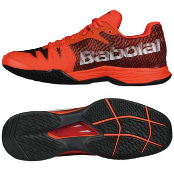 バボラ(Babolat) テニスシューズ ジェット マッハII オールコートM OB(JET MACH II ALL COURT M OB)BAS18629オレンジドットコム×ブラック