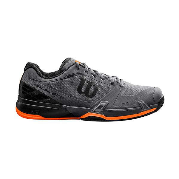 【SALE★在庫限り】Wilson(ウイルソン)テニスシューズ RUSH PRO 2.5 Magnet/Bk/Sh WRS324110