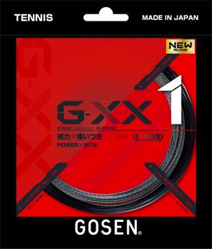 勝つために G-TOURとAKPROCXが繋がり 早割クーポン 食いつき が増幅 コントロール性が向上 GOSEN ゴーセン G-XX1 ストリング トラスト TSGX11 ハイブリッド ジー ダブルエックス1