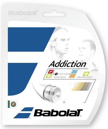 バボラ ストリング(ガット) アディクション(Addiction) 200mロール BA243115