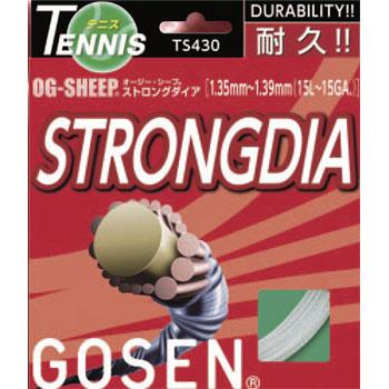 ゴーセン(GOSEN)ストリング ストロングダイア20張りパック TS430W20PSTRONG DIA TS430W20P
