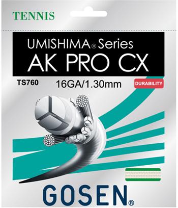 16 20張りパック(TS760NA20P)1134円/張 CX PRO ウミシマ ゴーセン(GOSEN)ストリング AK