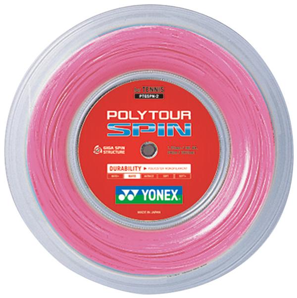 ヨネックス ストリングポリツアースピン ロール240m (POLYTOUR SPIN) PTGSPN-2
