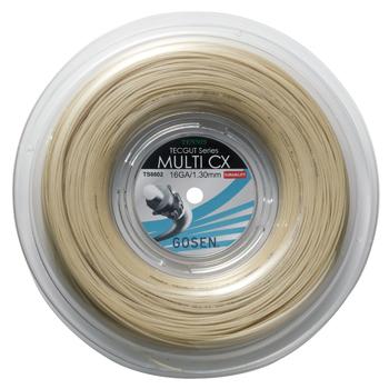 ゴーセン(GOSEN)ストリング TECGUT MULTI CX 16/17 240mロール TS6602/TS6612 1248円/張