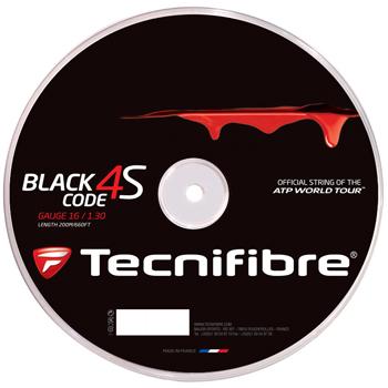 Tecnifibre(テクニファイバー)ストリング Tecnifibre BLACK CODE 4S(ブラックコードフォーエス)ロール 1.20(TFR516) 1.25(TFR517) 1.30(TFR518)