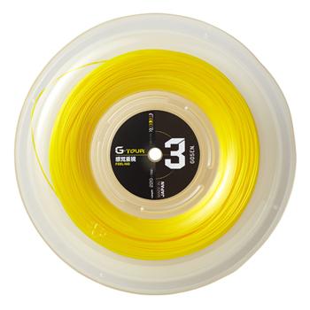 GOSEN ゴーセン ストリング G-TOUR3 ジー 17GA 予約販売 ロール セールSALE%OFF 1.23mm ツアー3 TSGT312SY