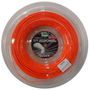 ゴーセン(GOSEN)ストリング NEW エッグパワー16 200mロール EGGPOWER16 TS1002