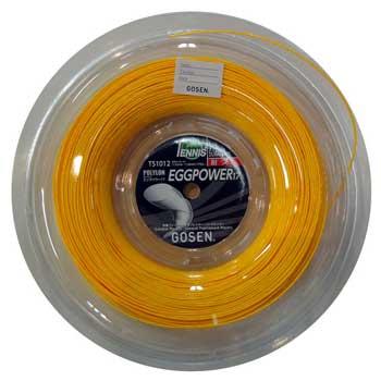 ゴーセン(GOSEN)ストリング エッグパワー17 200mロール EGGPOWER17 TS1012