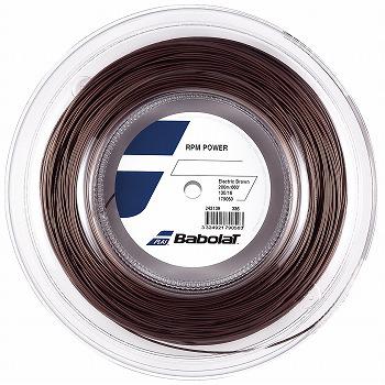 バボラ (babolat)ストリング RPMパワー(RPM POWER)125/130 200mロール BA243139