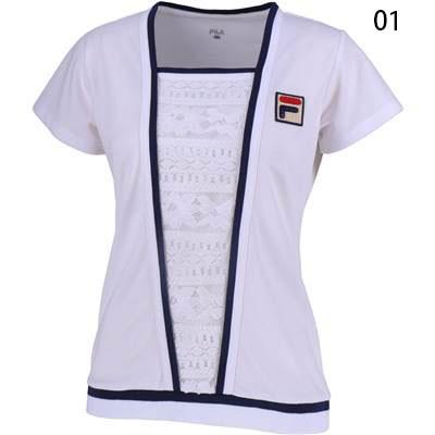 フィラ(FILA)レディース ゲームシャツ VL1926