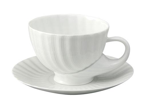 スペイン製高級食器サルガデロスCuncha-Brancoカフェオレカップ&ソーサー350ml