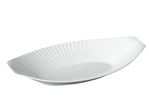 スペイン製高級食器サルガデロスCuncha-Brancoオーバルプラター 37.5cm