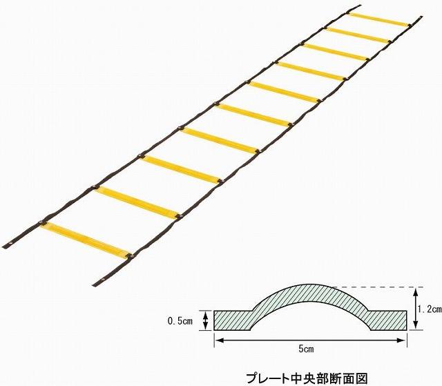 エバニュー ソフトラダートレーニングロープ(EGA480)
