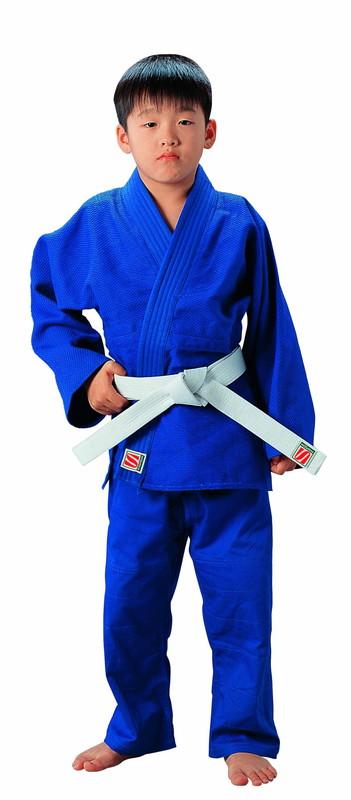 早川繊維工業(九櫻) (上下セット)一重織ブルー柔道衣 上下セット(JYN4)