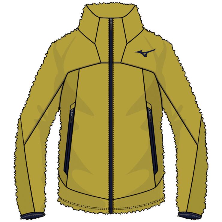 MIZUNO(ミズノ) ブレスサーモシャギーフリースジャケット アウトドア アパレル メンズ A2MC852147