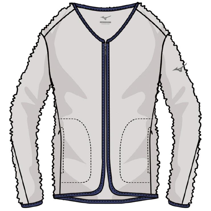 MIZUNO(ミズノ) ブレスサーモシャギーフリースジャケット アウトドア アパレル レディース A2MC872102