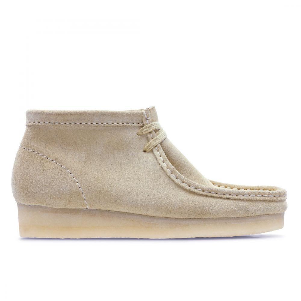 クラークス(Clarks) Wallabee Boot. / ワラビーブーツ (メープルスエード) レディース 26134977