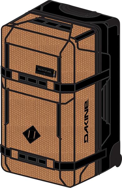 ダカイン(DAKINE) SPLIT ROLLER 110L キャリーバッグ AI237197-RTR