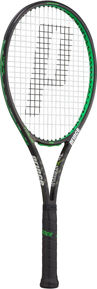 今なら送料負担キャンペーン中(北海道・沖縄除く) Prince(プリンス) テニスラケット ツアー95 ブラック×グリーン 310g テニス ラケット 7TJ075