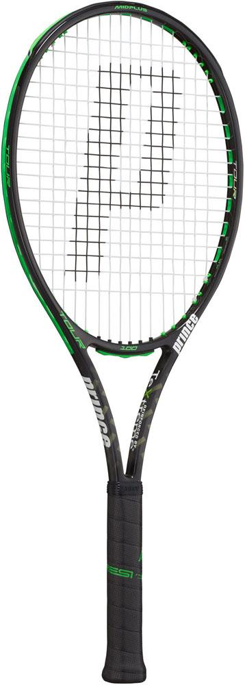 今なら送料負担キャンペーン中(北海道・沖縄除く) Prince(プリンス) テニスラケット ツアーO3 100 ブラック×グリーン 310g テニス ラケット 7TJ077