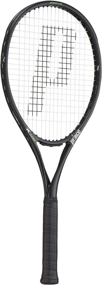 今なら送料負担キャンペーン中(北海道・沖縄除く) Prince(プリンス) テニスラケット エックス100 ブラック 290g テニス ラケット 7TJ079