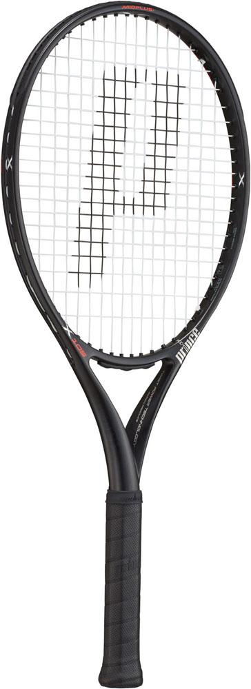 今なら送料負担キャンペーン中(北海道・沖縄除く) Prince(プリンス) テニスラケット エックス105 ブラック 290g 左利き用 テニス ラケット 7TJ082
