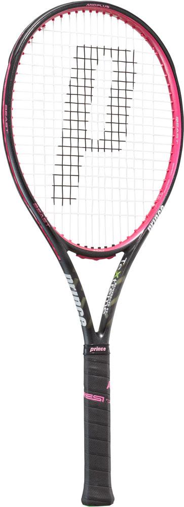 今なら送料負担キャンペーン中(北海道・沖縄除く) Prince(プリンス) テニスラケット ビースト100 ブラック×ラズベリーピンク 280g テニス ラケット 7TJ086