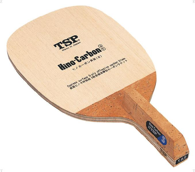 TSP ヒノカーボン S(角型) 卓球 ラケット 021311 (VICTAS)