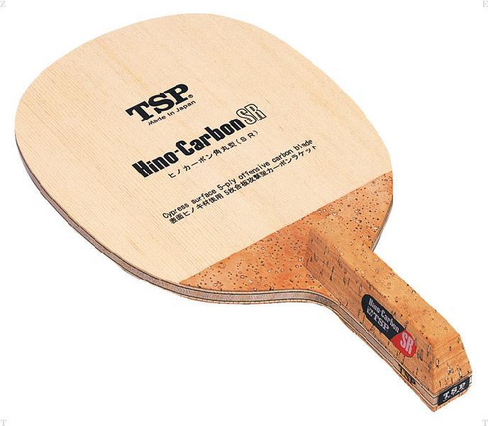 TSP ヒノカーボン SR(角丸型) 卓球 ラケット 021312 (VICTAS)