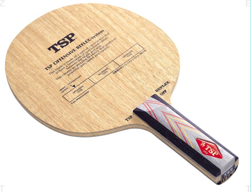 TSP オフェンシブ リフレックス システム ST 卓球 ラケット 022145 (VICTAS)