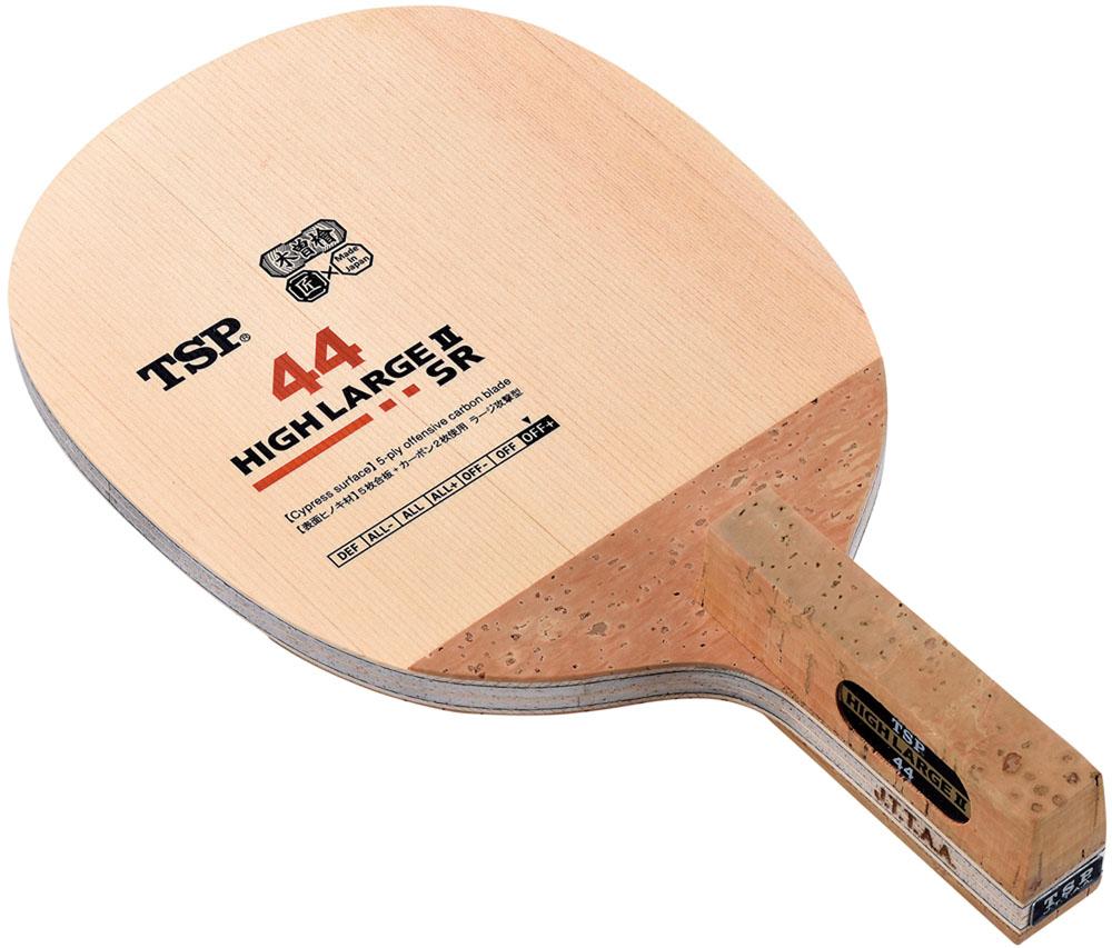 TSP (卓球 ペンラケット) ハイラージ SR 角丸型 卓球 ラケット 026822 (VICTAS)