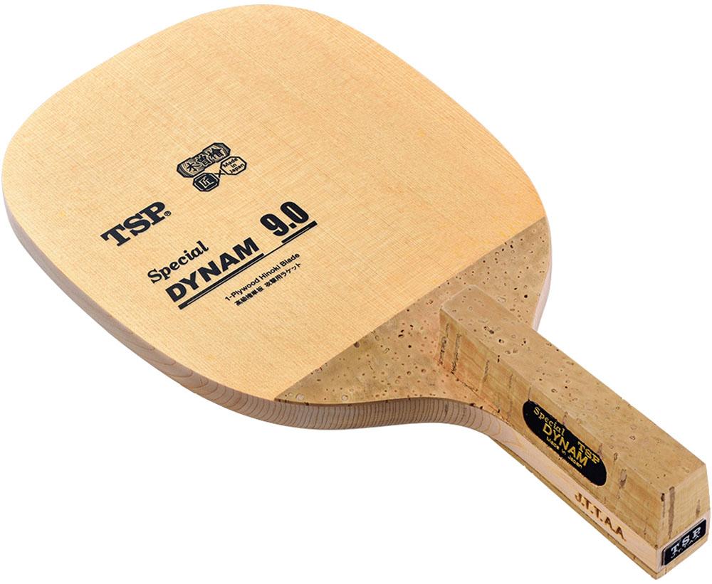 TSP 卓球 ラケット 日本式ペン スペシャルダイナム9.0 ( 角型 ) 028801 (VICTAS)