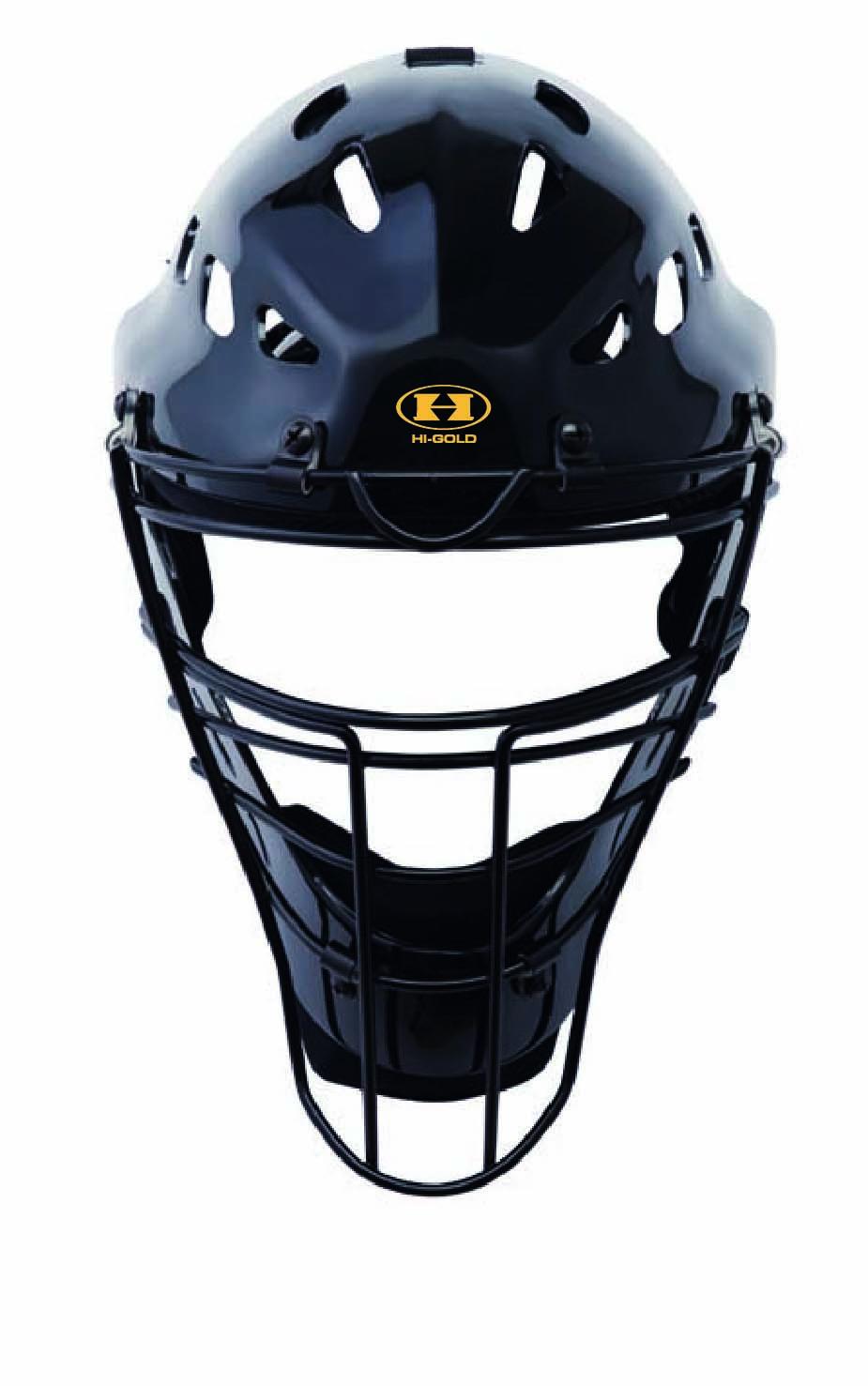 ハイゴールド(Hi-GOLD) 審判ヘルメットマスク CH-1000-N