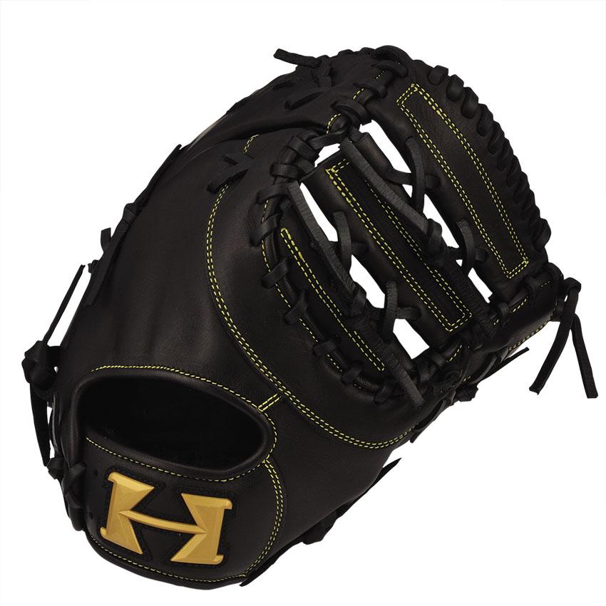 ハイゴールド(Hi-GOLD) 少年軟式グラブ ルーキーズシリーズ 一塁手用 RKG-191F-BK