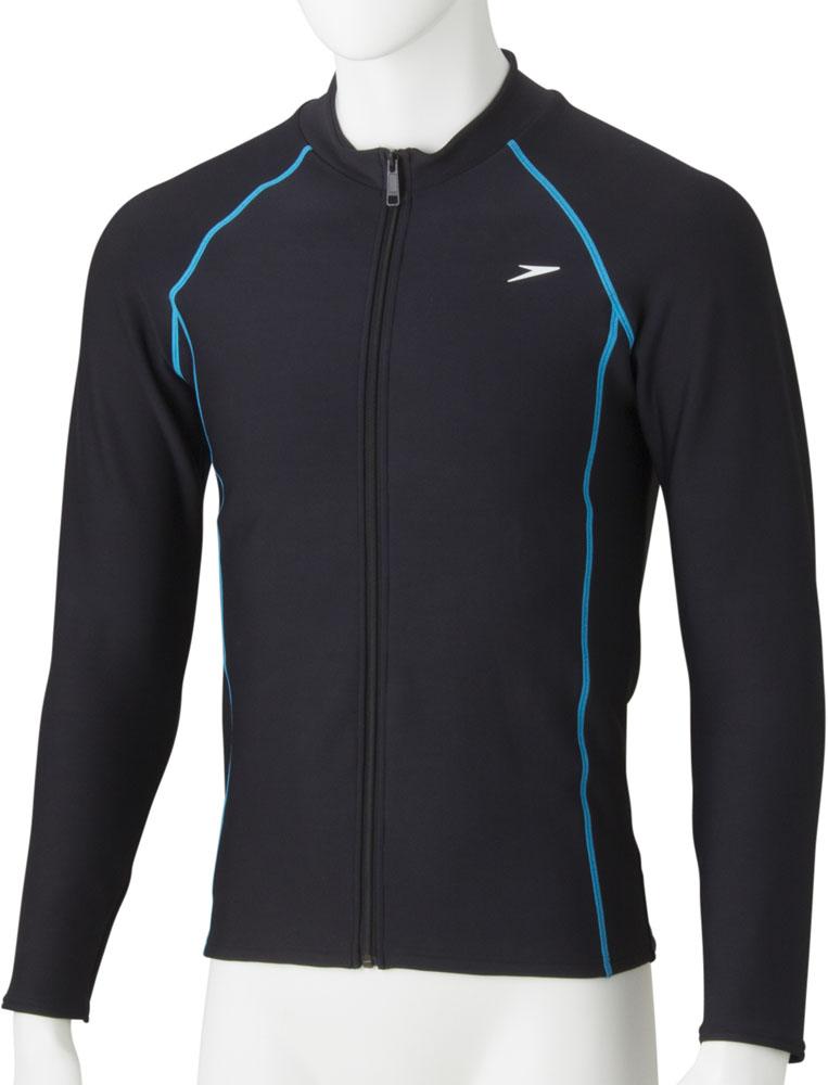 Speedo(スピード) (メンズ フィットネス用水着) Comfort Warmメンズアクアシャツ SD87L48-KC メンズ