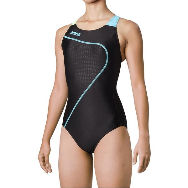 ARENA(アリーナ) サークルバック(ぴったりパッド)(着やストラップ) FLA-0901W-BKBU 水泳 レディース
