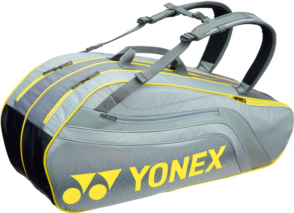 Yonex(ヨネックス) (テニス用ラケットバッグ) TOURNAMENT SERIES ラケットバック6 リュック付き(ラケット6本用) BAG1812R-010 メンズ