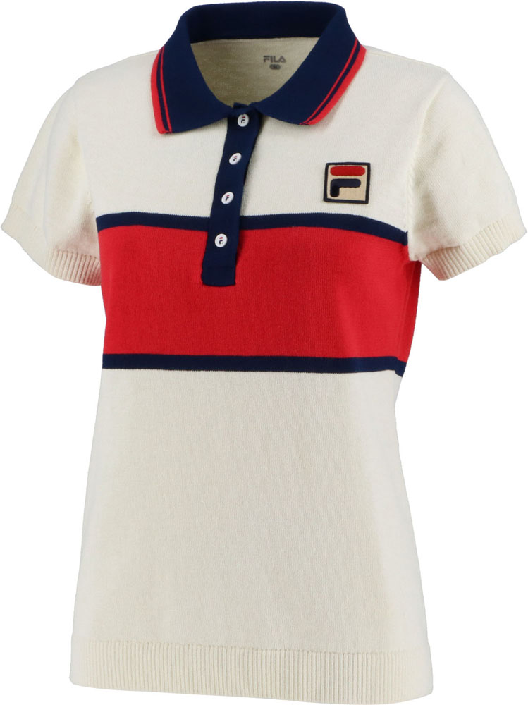 FILA(フィラ) ポロシャツ レディース テニス ポロシャツ VL2029-34
