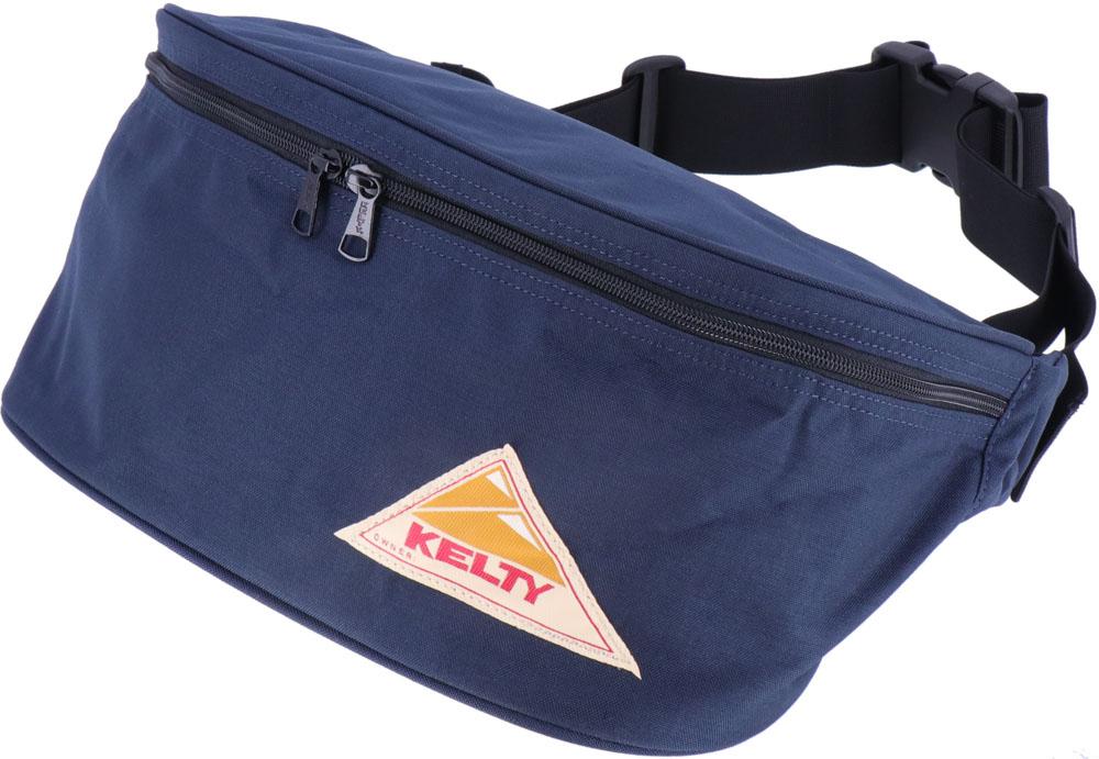 KELTY(ケルティ) BIG FANNY 12L BLACK アウトドア バッグ 2591804-NAVY