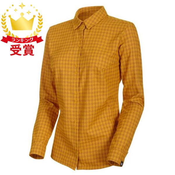 マムート Winter Longsleeve Shirt Women 1015-00470-1250 ポロシャツ レディース(サイズはユーロ表記)