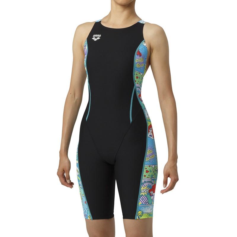 ARENA(アリーナ) タフハーフスパッツ DIS-9308W-BKGN レディース 水泳
