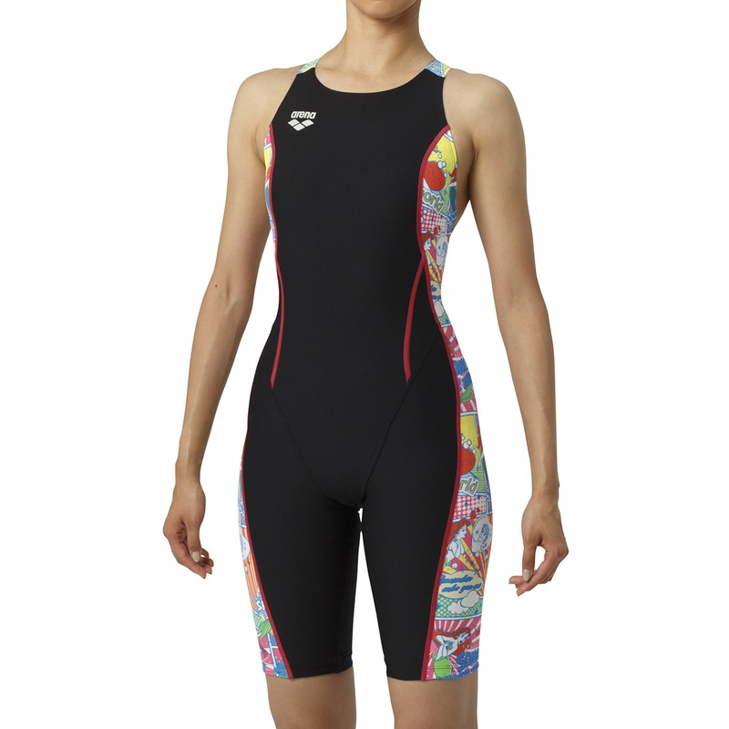 ARENA(アリーナ) タフハーフスパッツ DIS-9308W-BKMT レディース 水泳