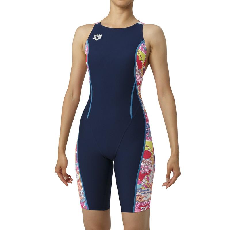 ARENA(アリーナ) タフハーフスパッツ DIS-9308W-NVPK レディース 水泳