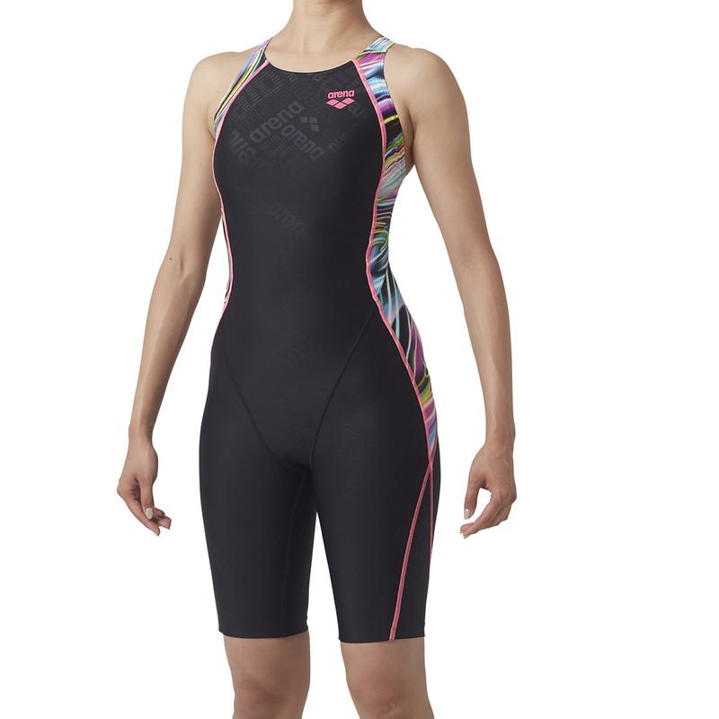 ARENA(アリーナ) セイフリーバックスパッツ(着やストラップ) SAR-9151W-BKPK レディース 水泳