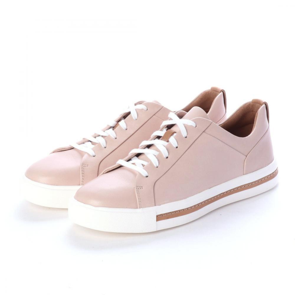 クラークス(Clarks) アンマウイレース (ヌードレザー) レディース レザー スニーカー 靴 シューズ 本革 革靴 26140167