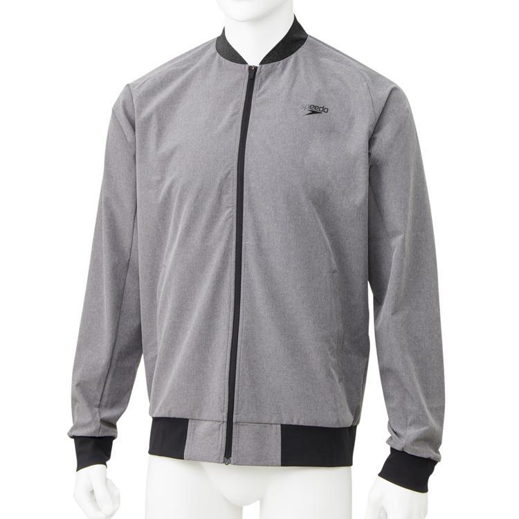 スピード(Speedo)スタンダードジャケット(メンズ/トレーニングウェア) SA01901-MX