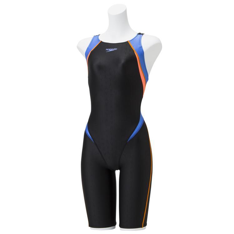 スピード(Speedo)FLEXΣ フレックスシグマ セミオープンバックニースキン(レディース/競泳水着/オールインワン) SCW11910F-BN