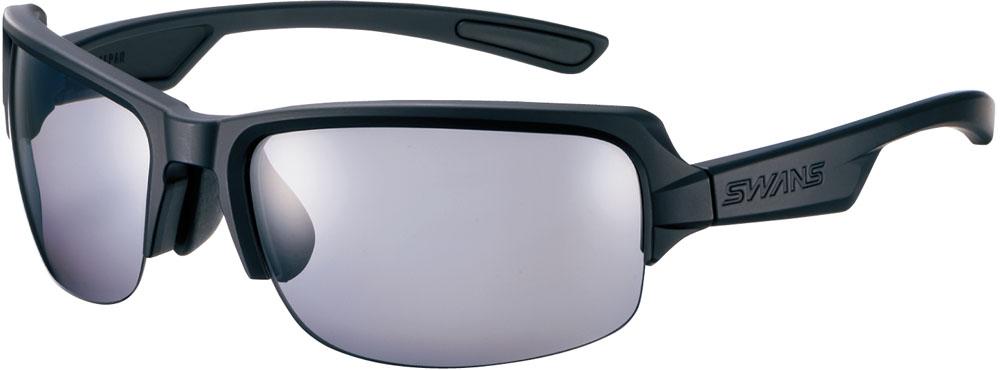 SWANS(スワンズ) DF-P 【偏光モデル】 0051 ブラック×ブラック×ホワイト マルチスポーツ サングラス DF0051-MBK