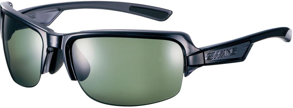 SWANS(スワンズ) DF ( 偏光レンズ ) ホワイト×グレー×グリーンスモーク マルチスポーツ サングラス DF0057-CSK