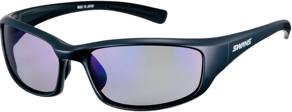 SWANS(スワンズ) ウォーリアー・セブン 偏光レンズモデル マルチスポーツ サングラス WA70151-MBK